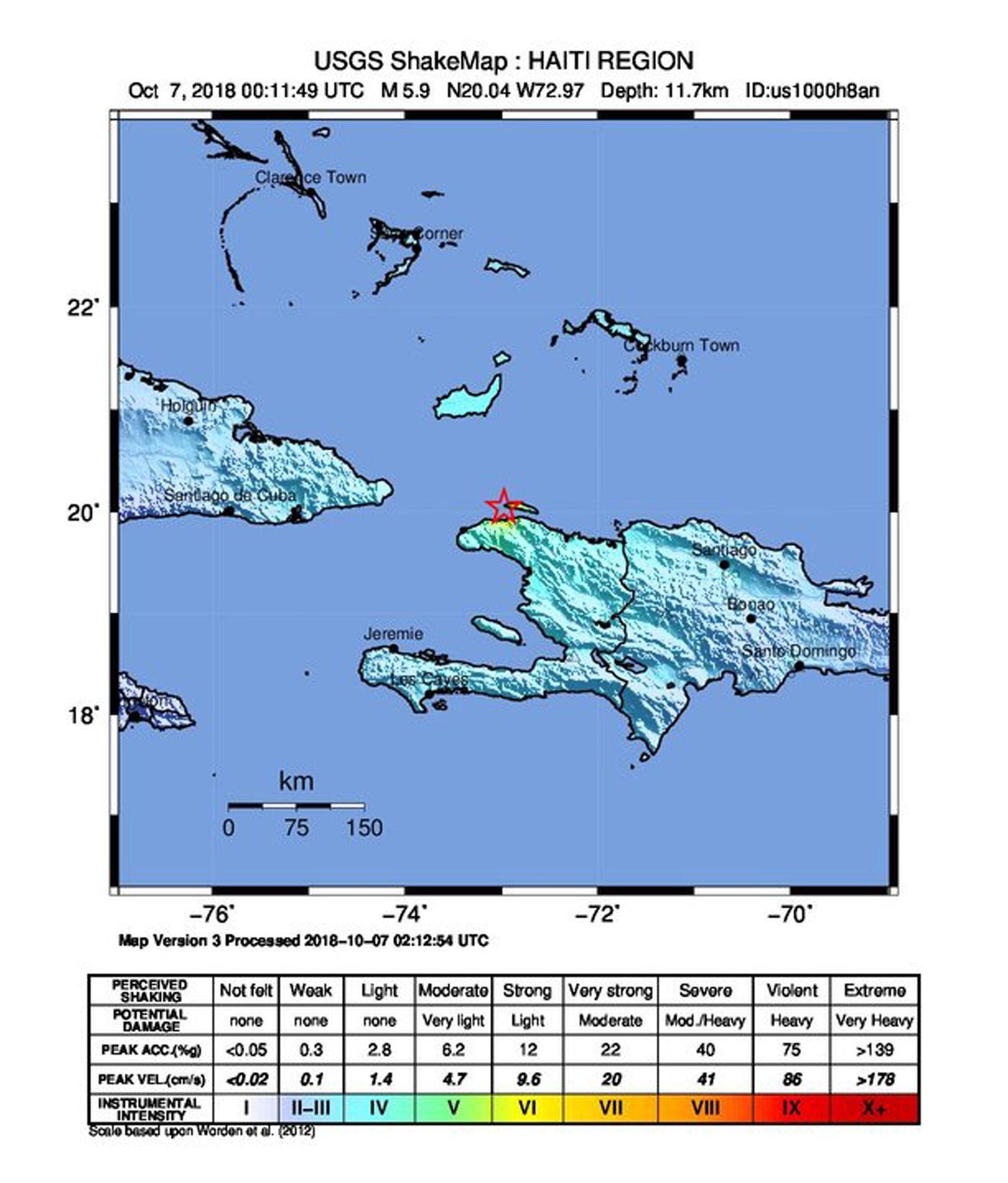 EINMALIGE VERWENDUNG Haiti/ Erdbeben