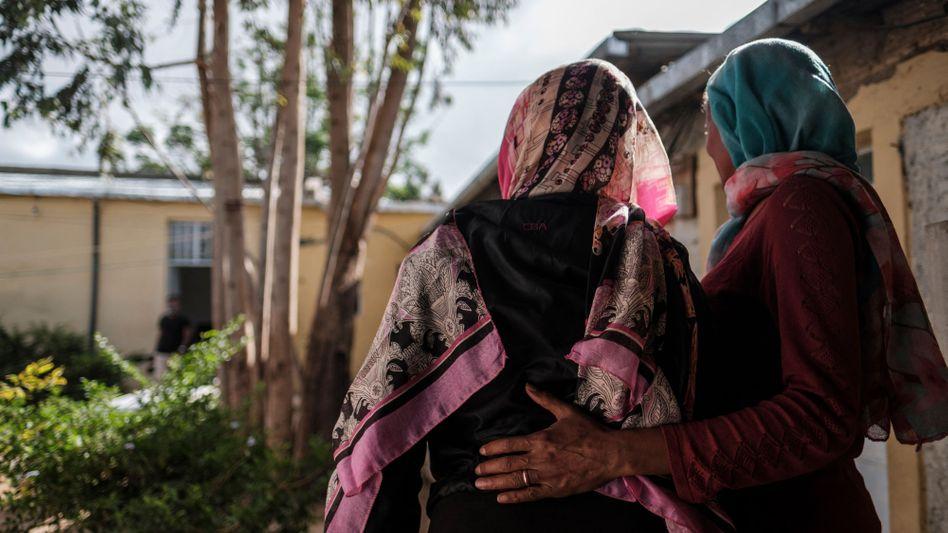 Vergewaltigungsopfer in einem »safe house« in Mekelle