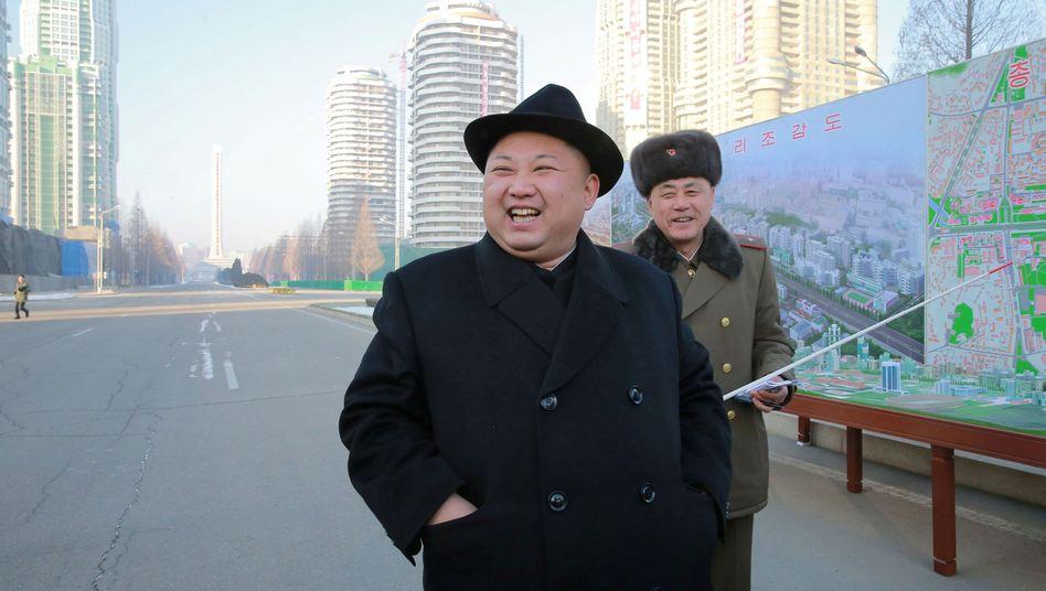 Kim Jong Un Ende Januar in Nordkorea