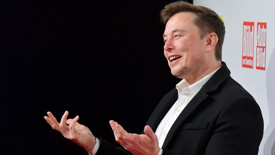 Tesla-Chef Elon Musk in Berlin: Erste europäische Gigafactory entsteht in Deutschland