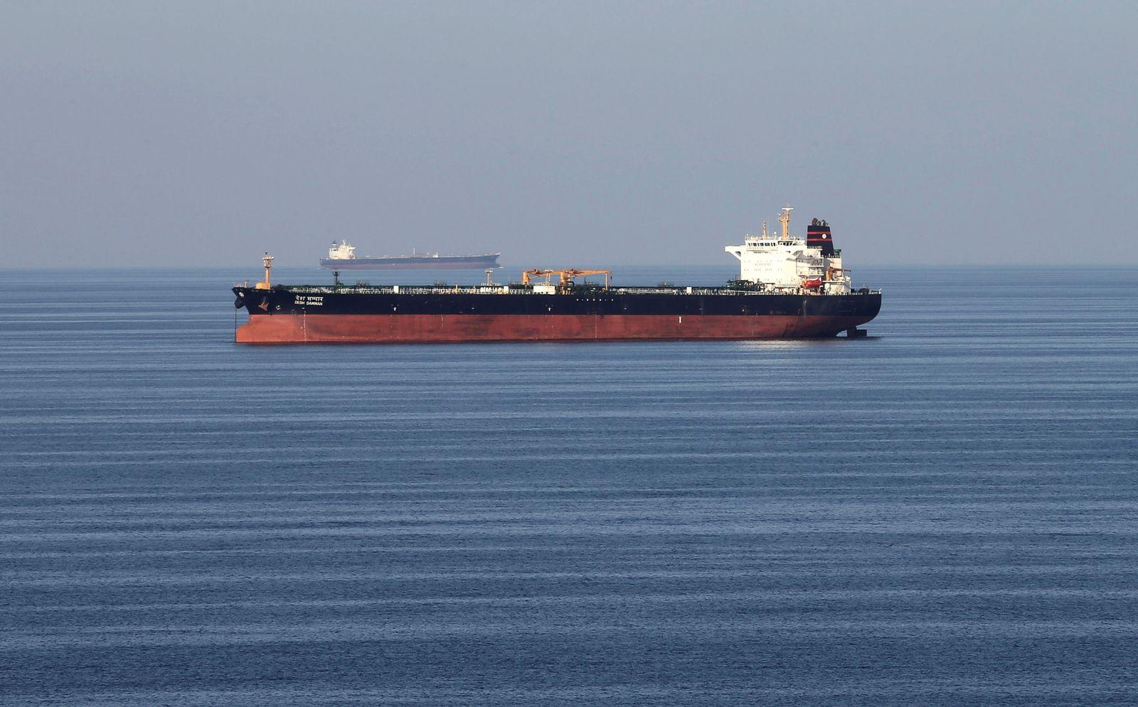 Öltanker Straße von Hormus