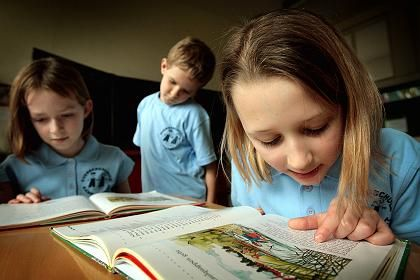 Grundschüler: Thüringen liegt vorn