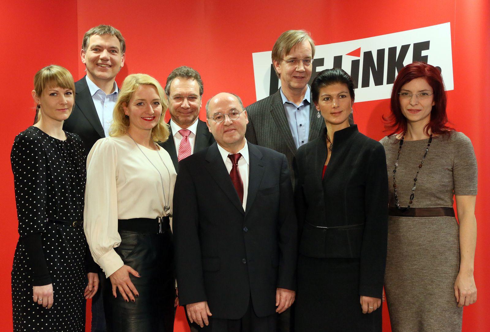 Die Linke - Spitzenteam für Bundestagswahl