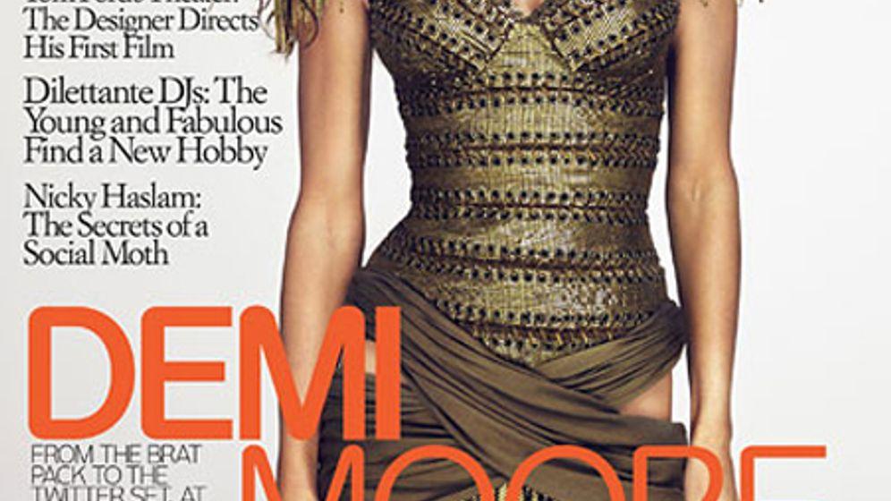 """Demi Moore: """"Nie im Gesicht"""""""