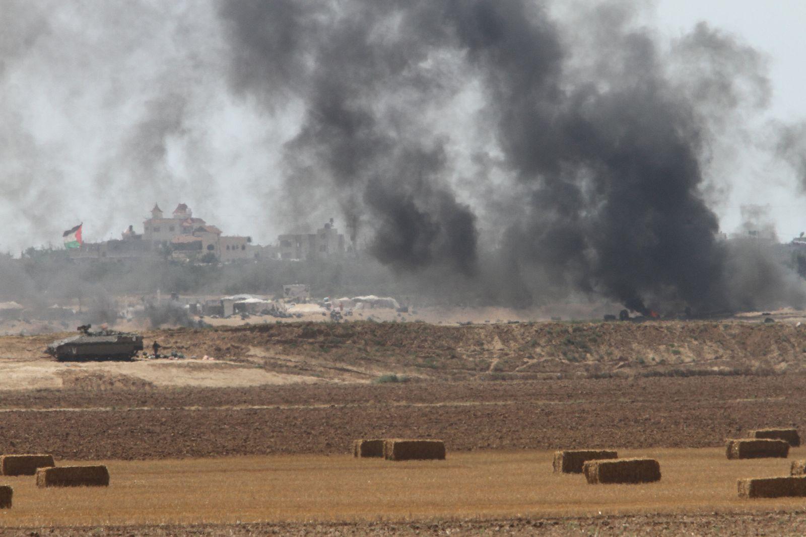 Protest im Gazastreifen