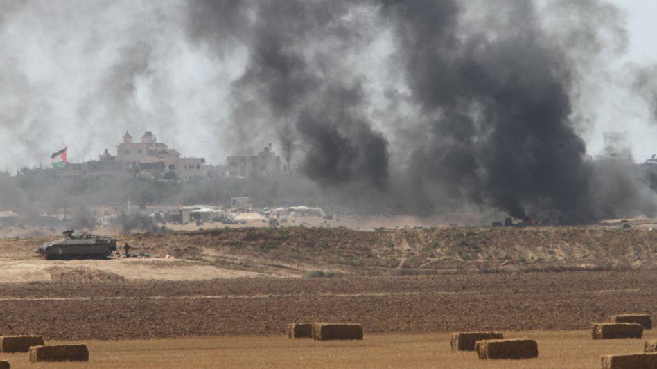Proteste im Gazastreifen (Archiv)