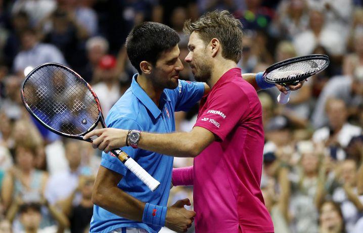 Djokovic und Wawrinka