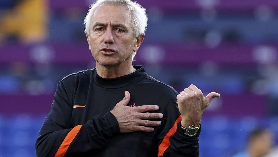 Fußballtrainer van Marwijk: Führt er den HSV aus der Krise?