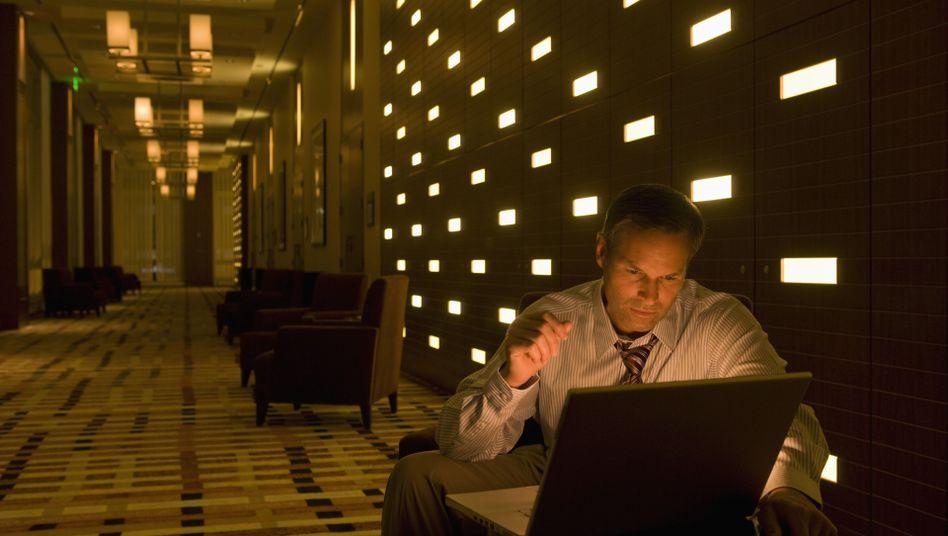Geschäftsreisender: Die Angst vor dem Datensauger