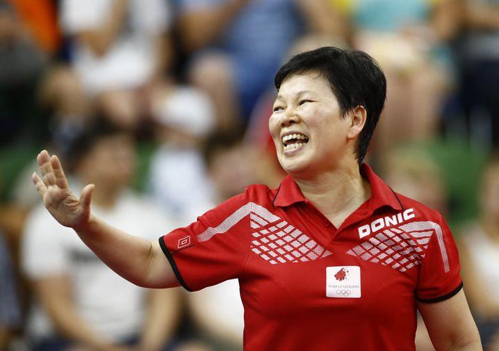 Ni Xia Lian qualifizierte sich mit 55-Jahren noch einmal für Olympia