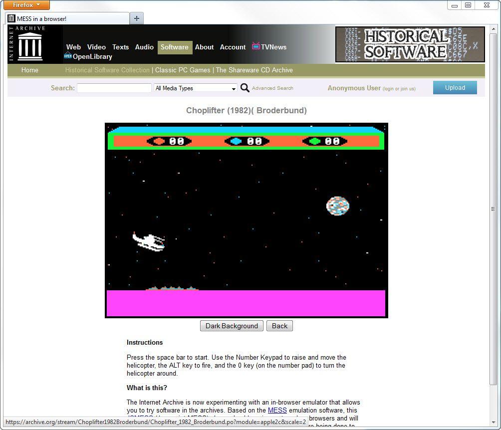 NUR ALS ZITAT Screenshot Historical Software Archive