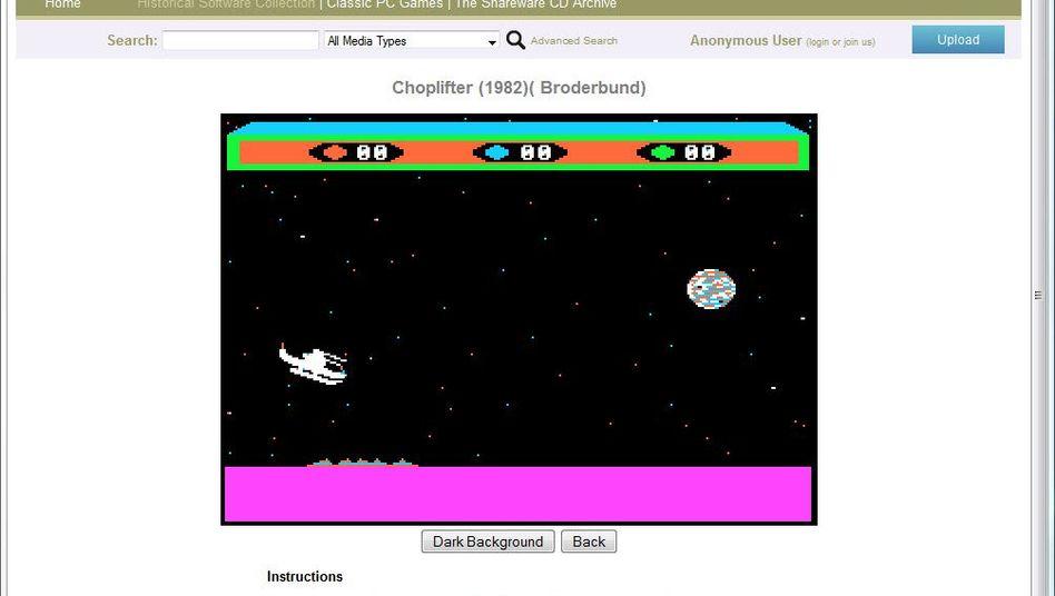 """Historical Software Collection: Mal wieder """"Choplifter"""" spielen"""