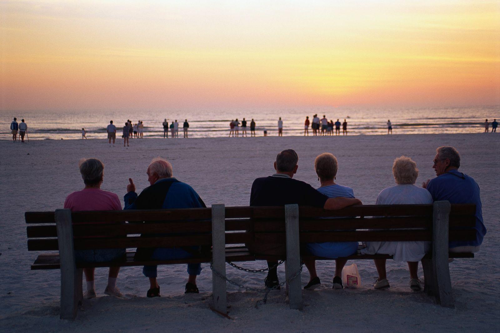 NICHT MEHR VERWENDEN! - Rentner/ Senioren/ Florida/ Strand