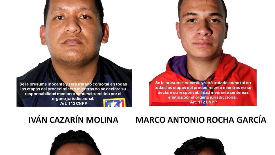 Ivan Cazarín Molina, drei Gefolgsleute: festgenommen in Tlajomulco de Zuniga