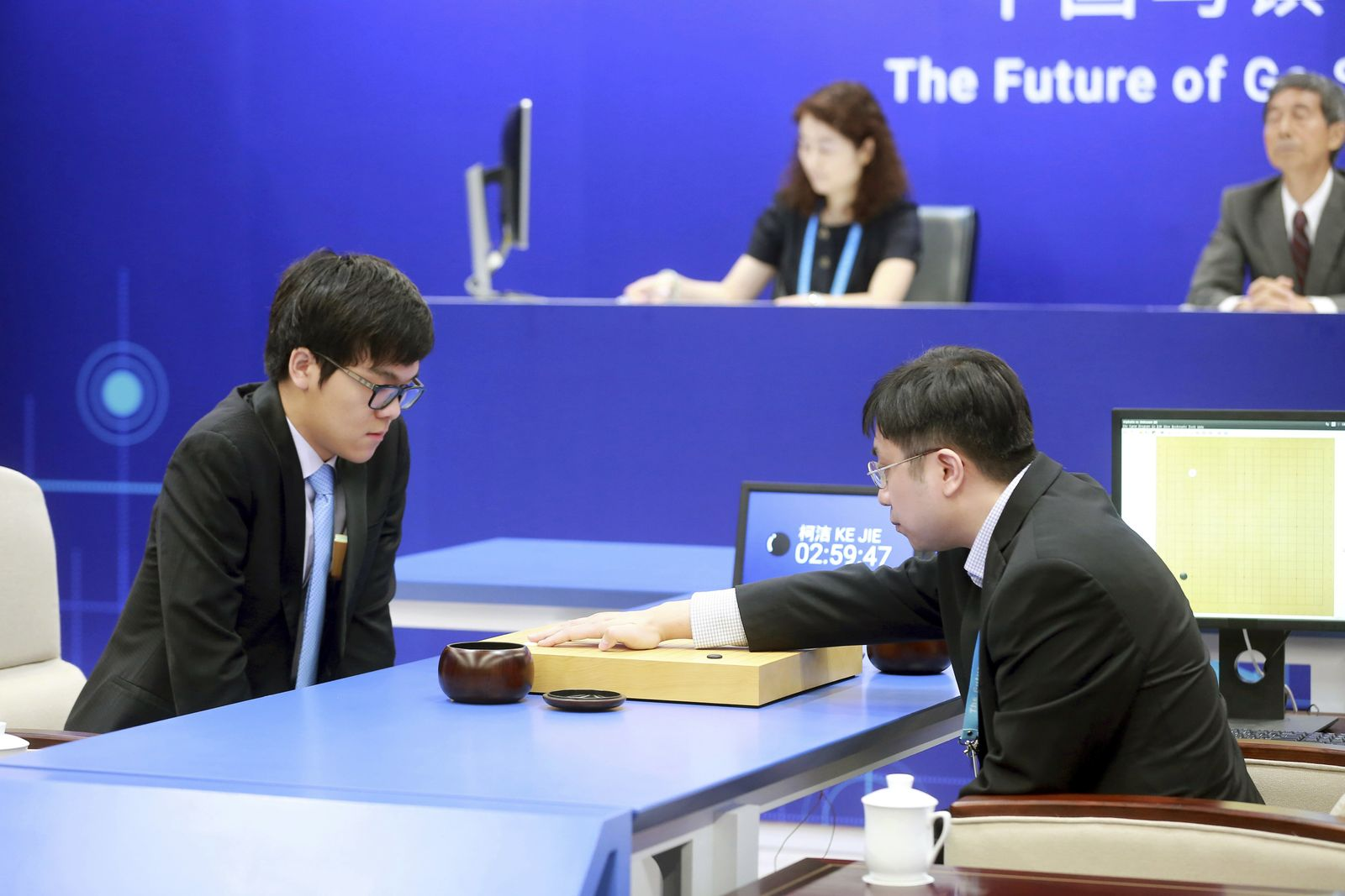 Ke Jie/ GO/ Google AlphaGo/ 2017