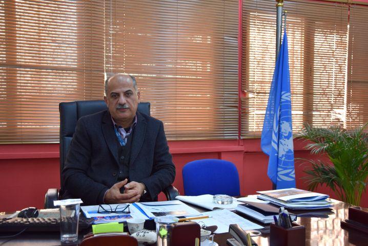 UNRWA-Gebietsleiter Moayad Ahmad