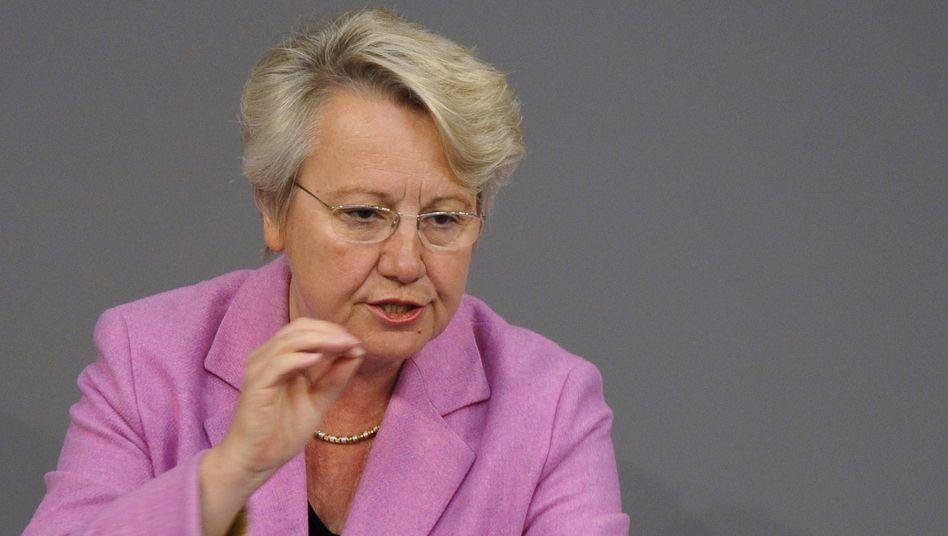 Ministerin Schavan: Atom-Empfehlungen sind ihr offenbar zu heikel