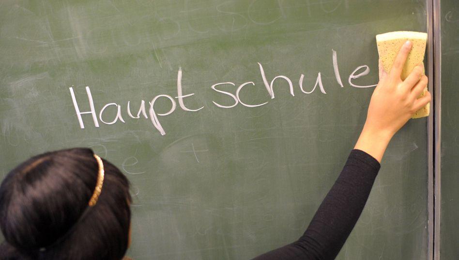 Hauptschule wegwischen - oder doch nicht? Die CDU grübelt weiter