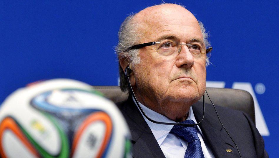 """Fifa-Präsident Blatter: """"Sehr, sehr kühl"""""""