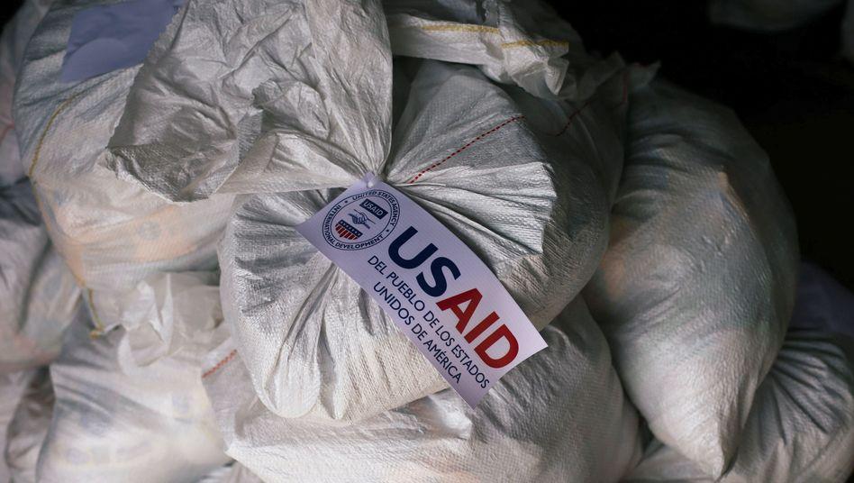 Hilfslieferungen für Venezuela