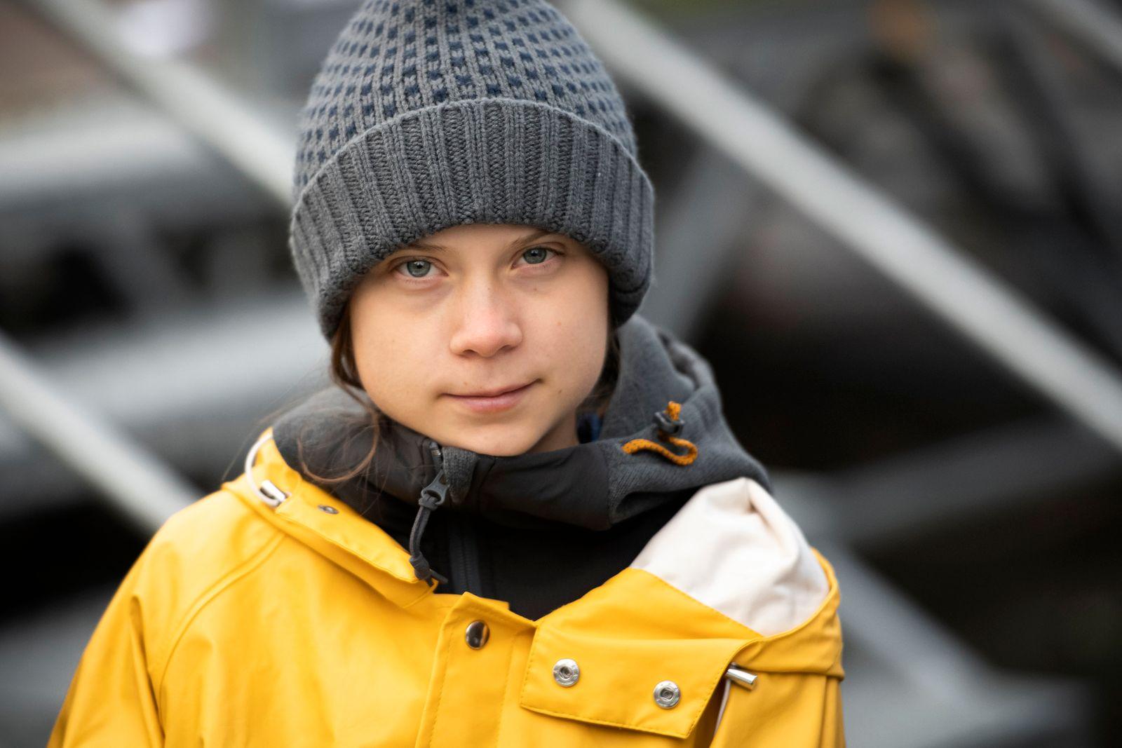 Greta Thunberg Attends Fridays For Future Strike In Turin