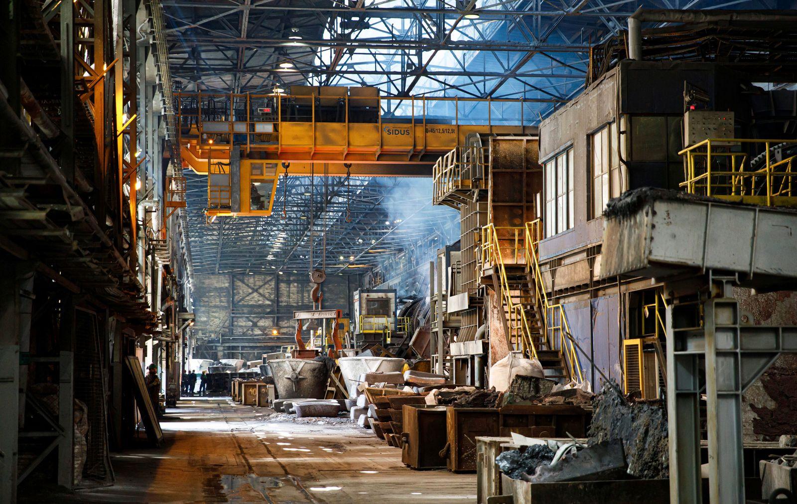 Steel mill Legica that belongs to one of the biggest