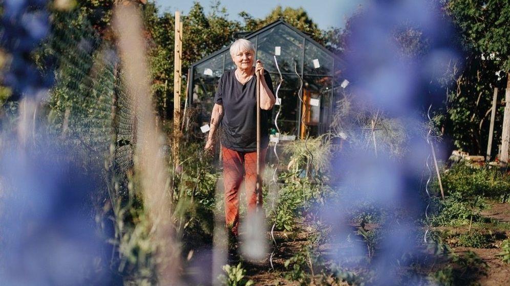 Beschützerin alter Traditionen:Hinter dem Haus von Ulrike Aas liegt der Bamberger Sortengarten