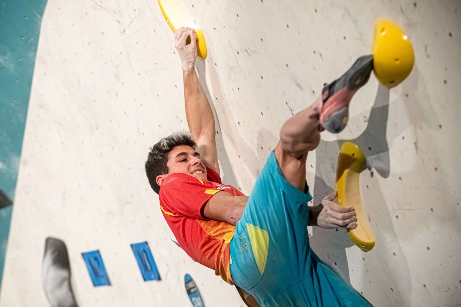 Spanish climber Alberto Gines Lopez, Brno, Czech Republic - 15 Feb 2020