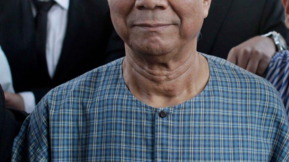 """Yunus: """"Habe mein Leben der Armutsbekämpfung gewidmet"""""""