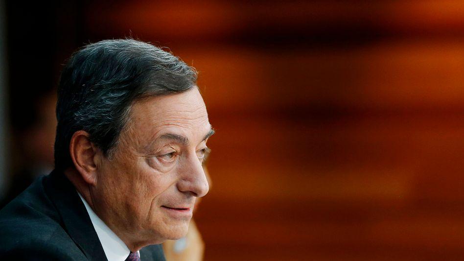 EZB-Präsident Draghi: Griff zu immer aggressiveren Methoden