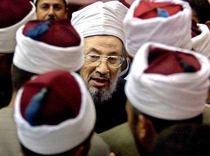 Prediger Qaradawi (2002): Sonst selbst nicht zimperlich