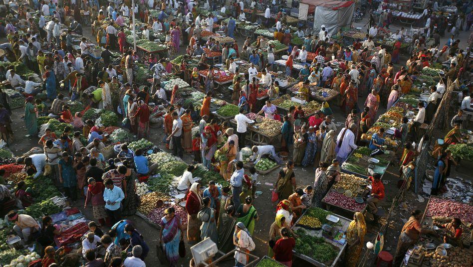 Erst Wandel, dann Stillstand: Offenbar stoppte das Kastenwesen die Vermischung der Bevölkerungsgruppen in Indien (Archivbild)