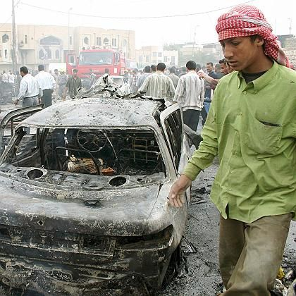 """A terror attack on a busy market in Karbala: """"We must build a state that is in the position to defend democracy."""""""