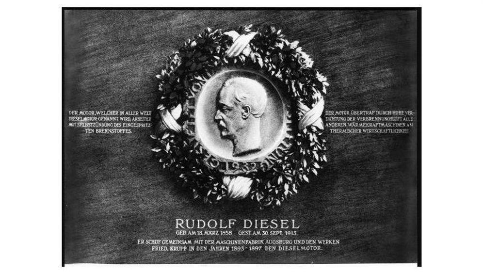 Kalenderblatt 29.9.1913: Rudolf Diesel tot