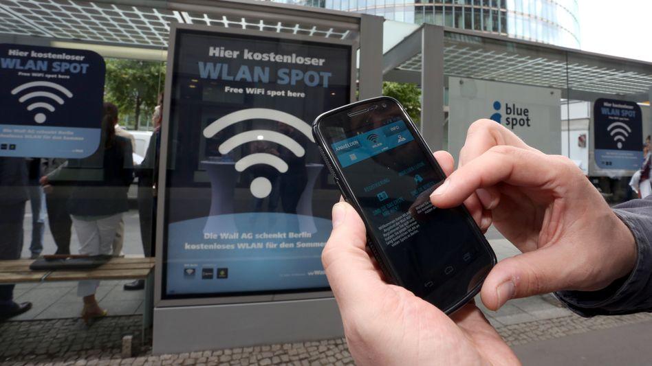 Kostenloser WLAN-Spot in Berlin