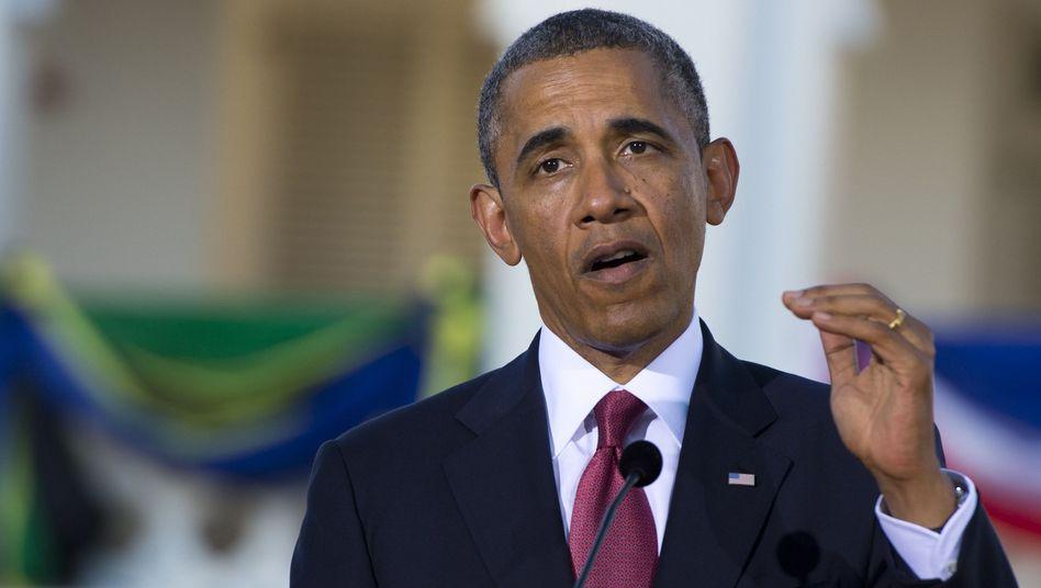 """US-Präsident Obama in Daressalam: """"Wir werden unsere Verbündeten angemessen unterrichten"""""""