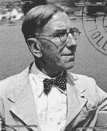 Alexander Moritz Frey served together with Adolf Hitler in World War I.