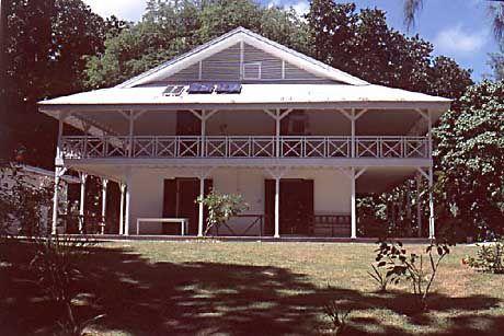 Das Doctor´s House dient heute als Museum