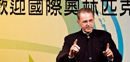 """IOC-Chef Rogge: """"Die letzte Grenze überschreiten"""""""