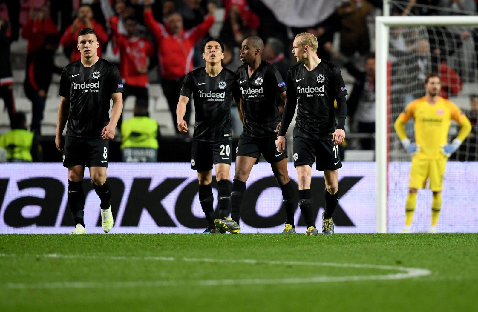 Benfica Lissabon - Eintracht Frankfurt