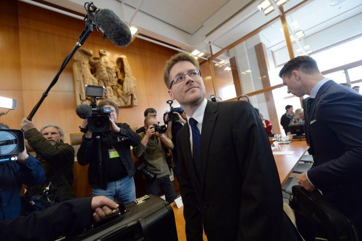 NPD-Anwalt Peter Richter