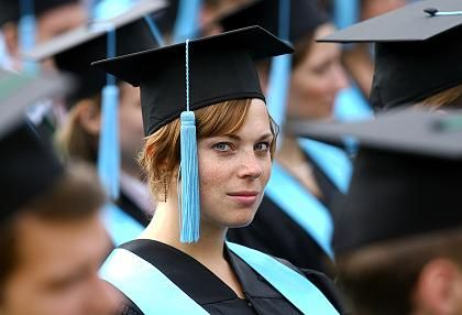 Absolventen (in Bonn): Die meisten können sich über Top-Noten freuen