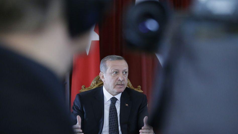 Präsidenten Erdogan: Kritik an Karikatur