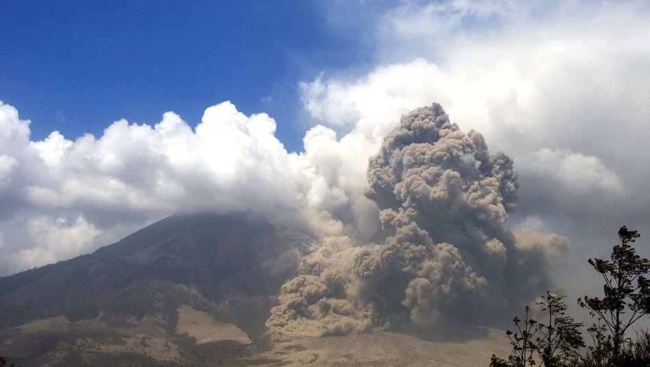 Heftiger Vulkanausbruch: Nickel diente als Treibstoff für die Methanproduktion