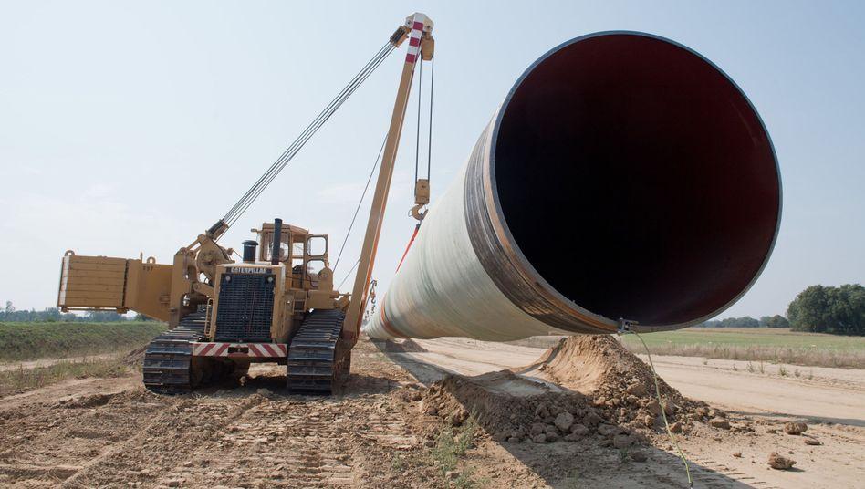 Eugal: Die Pipeline soll in Zukunft russisches Erdgas von Vorpommern bis Tschechien transportieren