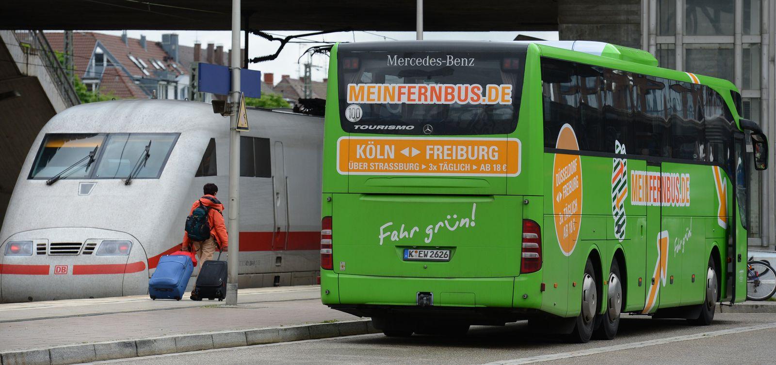 ICE / Fernbus Freiburg