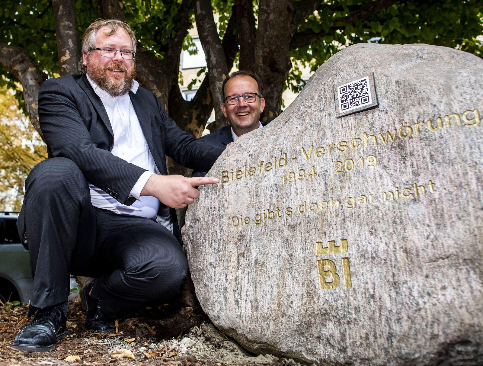 Kurioser Wettbewerb um Existenz von Bielefeld