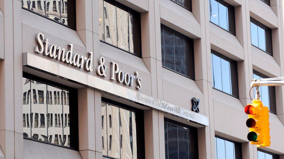 """Zentrale von Standard & Poor's in New York: """"Niemand kann es wirklich verstehen"""""""