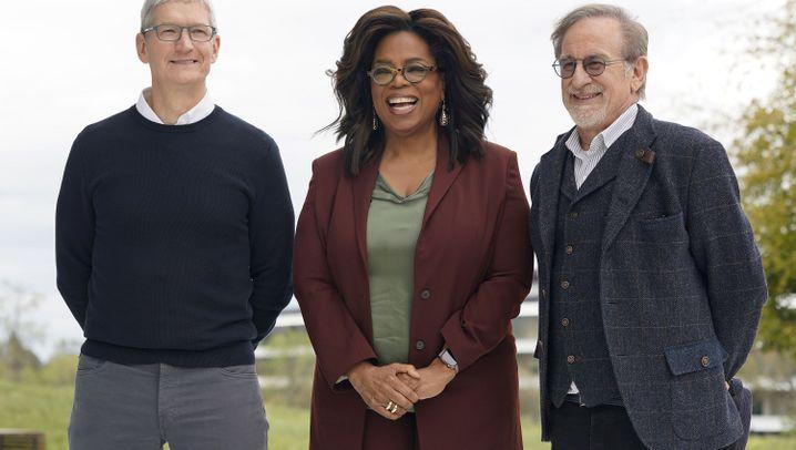 Event in Cupertino: Diese Stars waren bei der Apple-Show