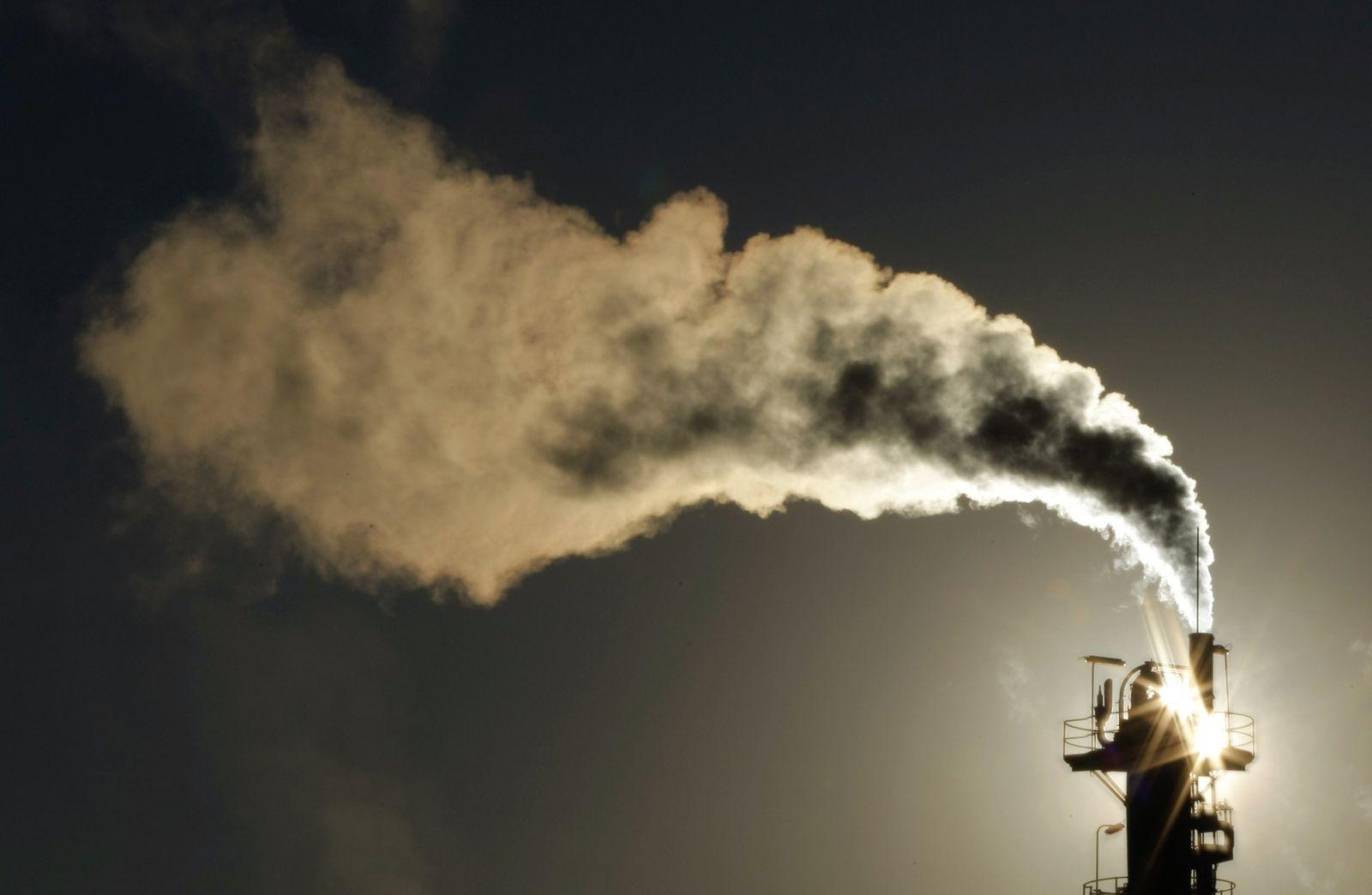 Schornstein/CO2